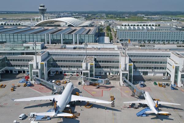 فرودگاه مونیخ آلمان در مدار هنر و زیبایی و معماری مدرن