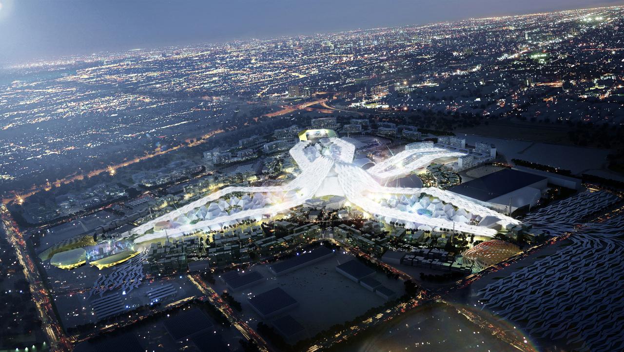 اکسپو دبی ۲۰۲۰ ، شهری آینده و مدرن
