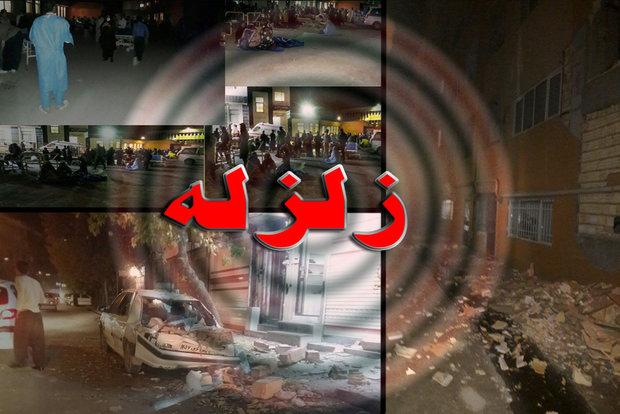آسیب رسیدن  بناهای تاریخی در زلزله کرمانشاه
