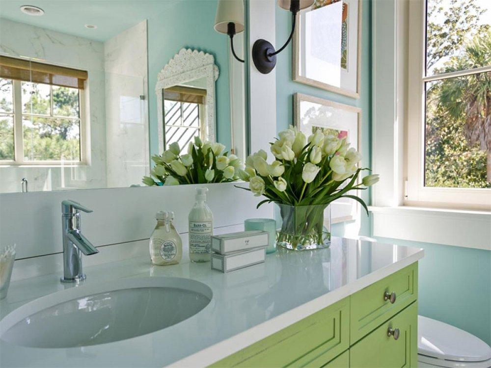 با این 8 روش دستشویی خانه را لوکس کنید