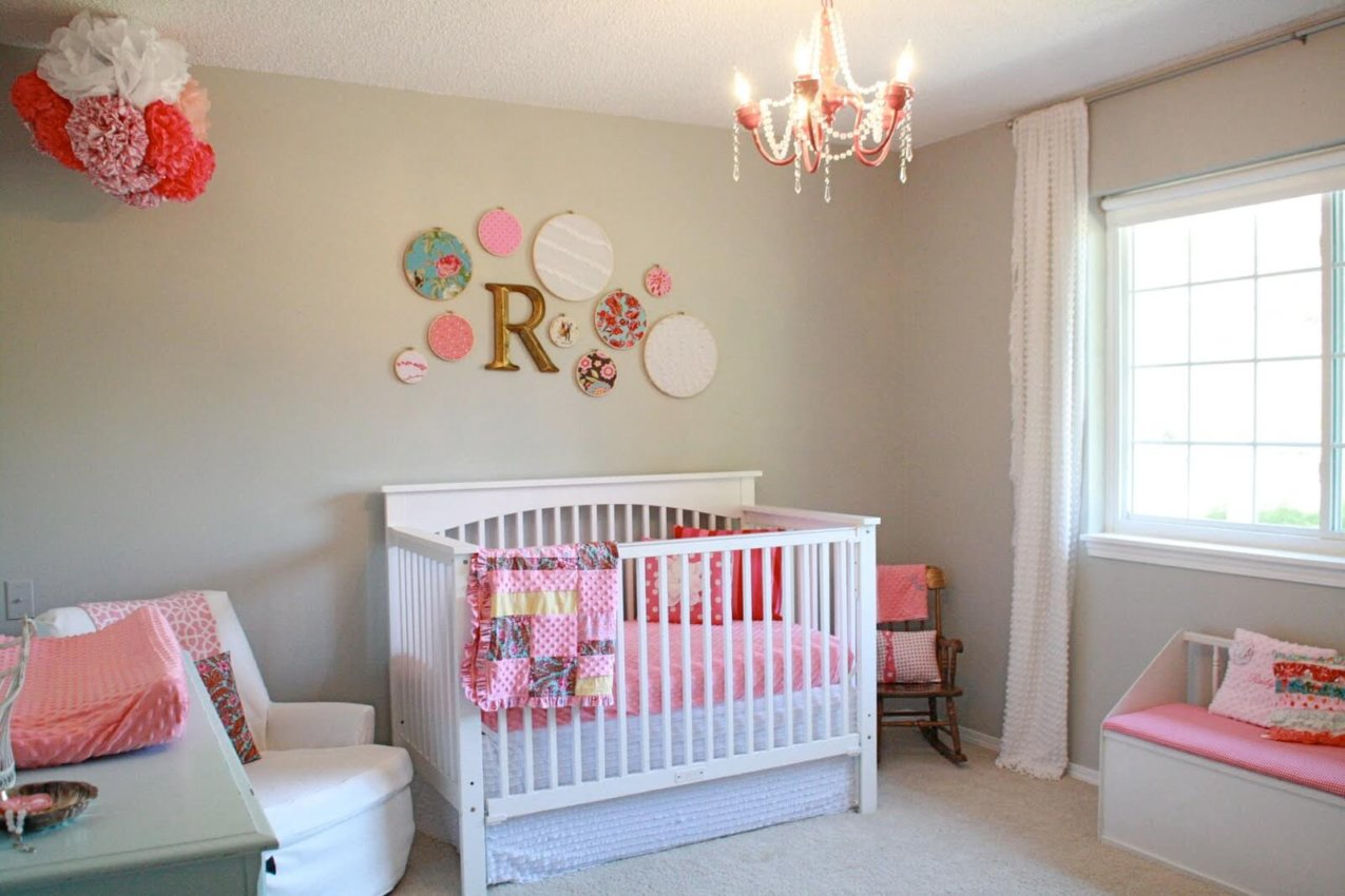 طراحی دکوراسیون مدرن برای اتاق نوزاد