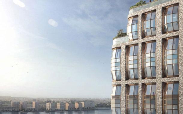 طراحی ساختمان مدرن توسط استودیو طراحی heatherwick