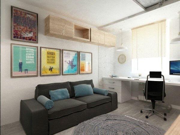 طراحی منزل 50 متری به سبک مینیمال
