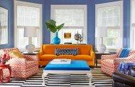 تاثیر رنگ در چیدمان منزل