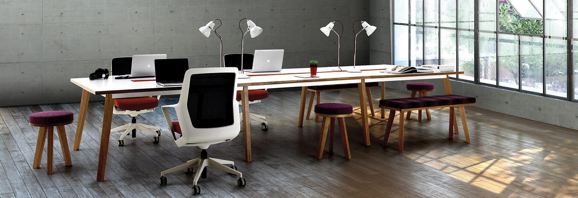 طراحی مبلمان اداری اتاق مدیریت