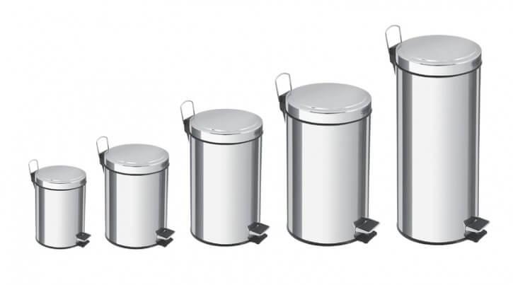 سطل زباله استوانه ای