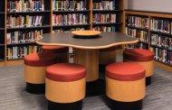 صندلی و تجهیزات کتابخانه