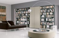 صندلی کتابخانه مدرن