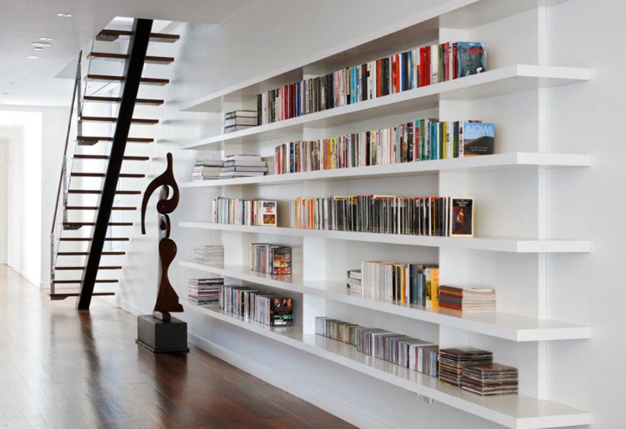 کتابخانه خانگی مدرن