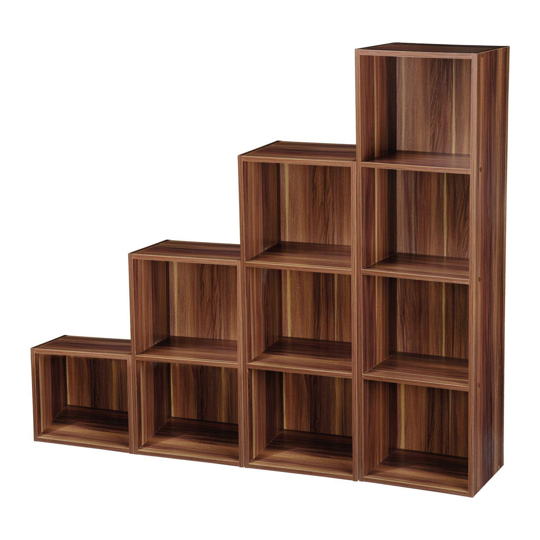خرید کتابخانه چوبی