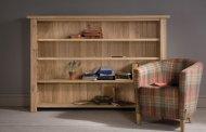 کتابخانه چوبی برای منزل