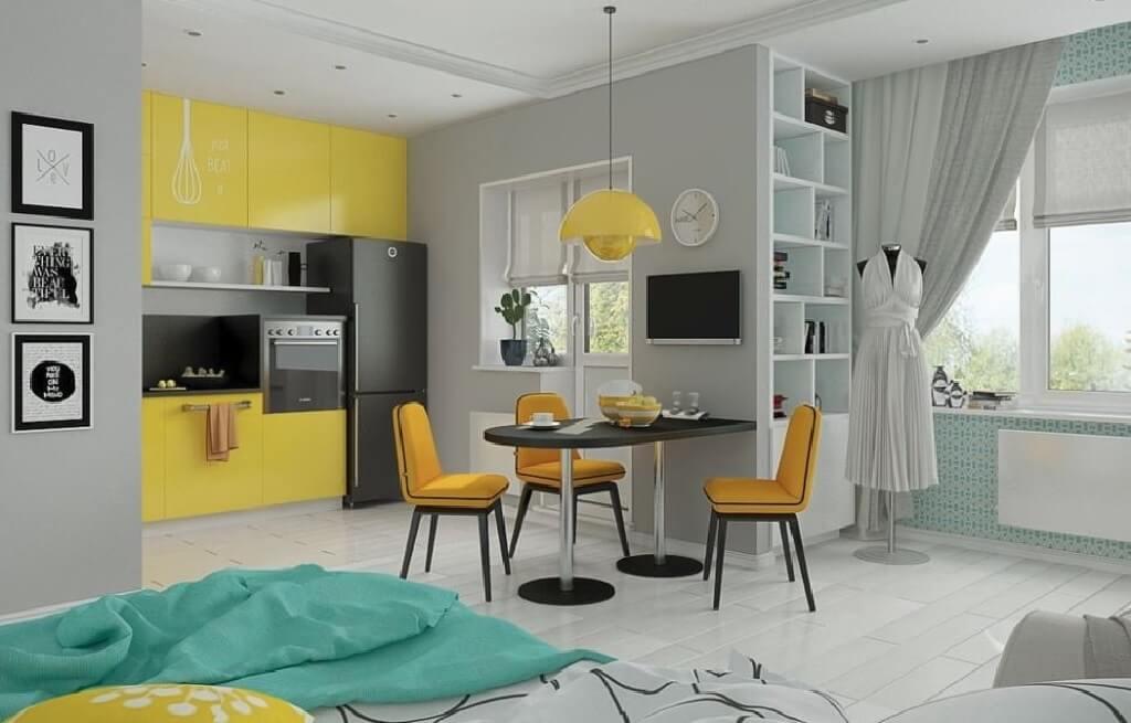 طراحی بی نظیر چهار آپارتمان زیر 50 متر