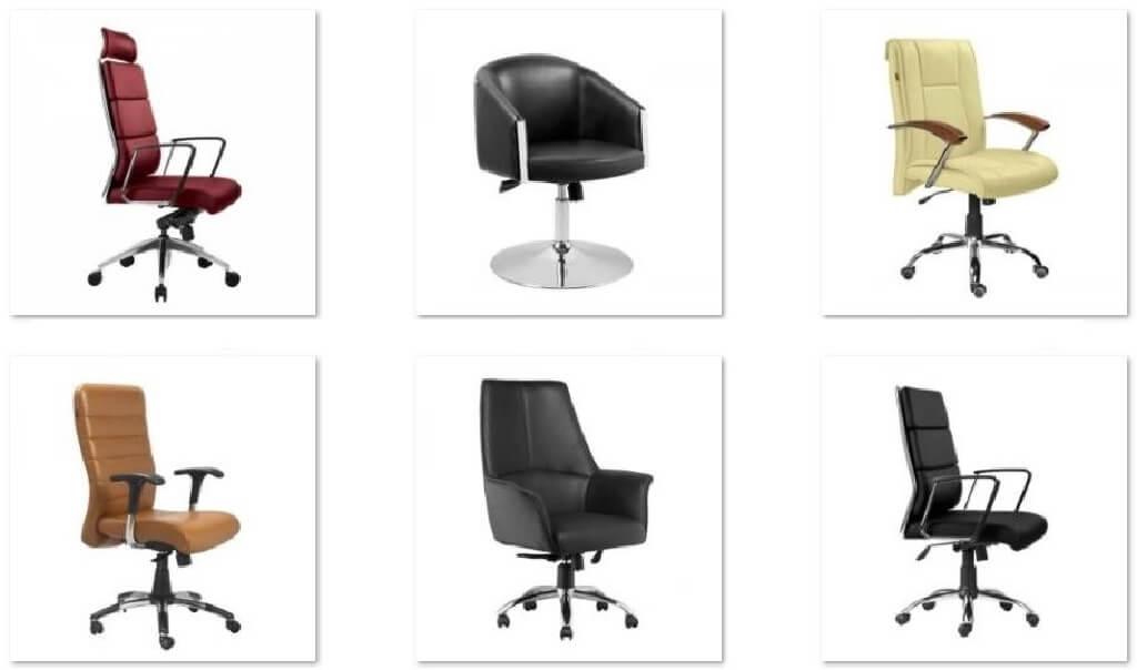 مسابقه صندلی اداری استاندارد