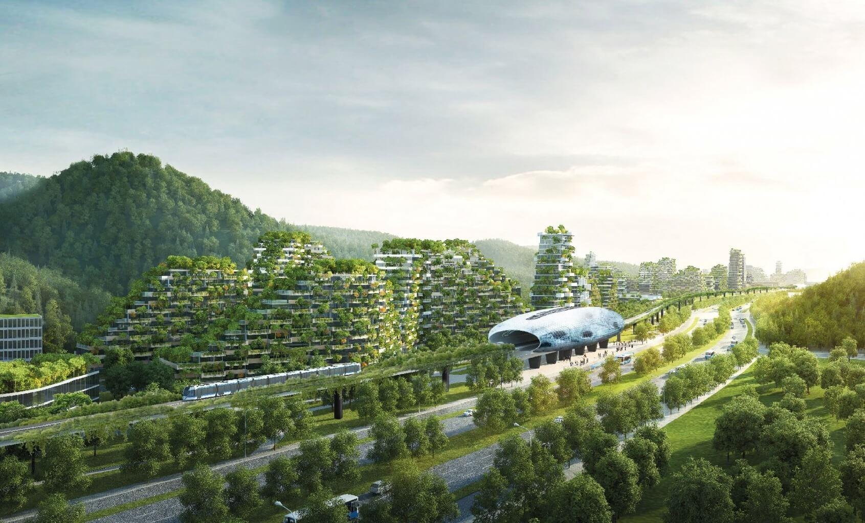 جنگلی عمودی در شهر برای مقابله با آلودگی هوا، راهحل خلاقانه طراح ایتالیایی