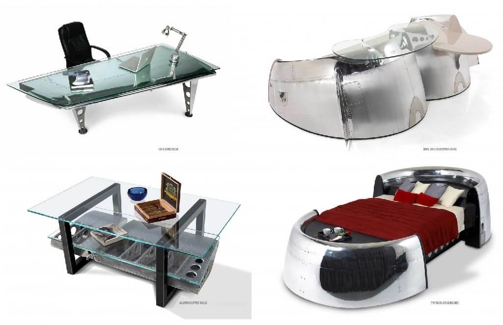 طراحی مبلمان برای علاقهمندان به هواپیما