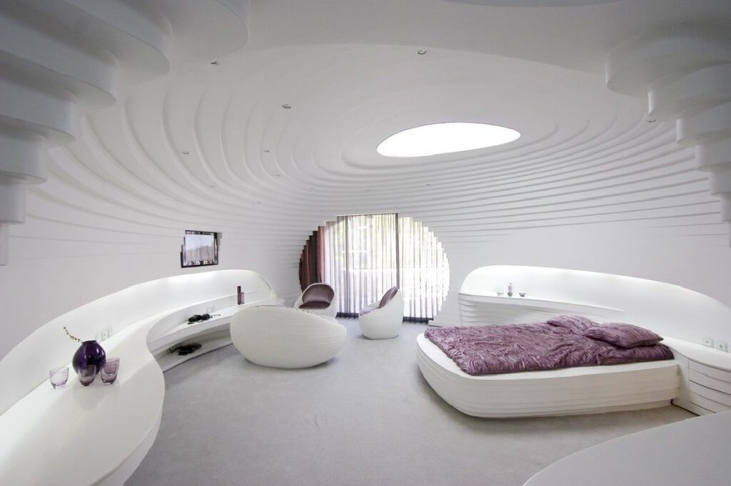 طرح معماری با الهام از طبیعت محیط