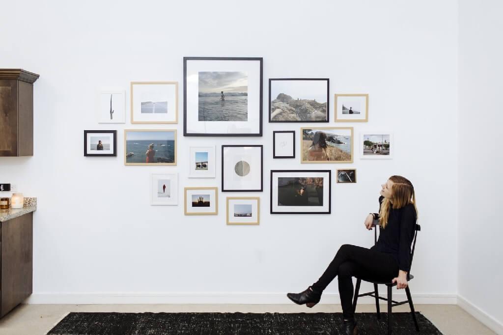 چگونه یک گالری بر روی دیوار بسازیم؟
