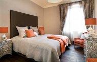 خانهای شیک و گرم با کاربرد رنگ نارنجی