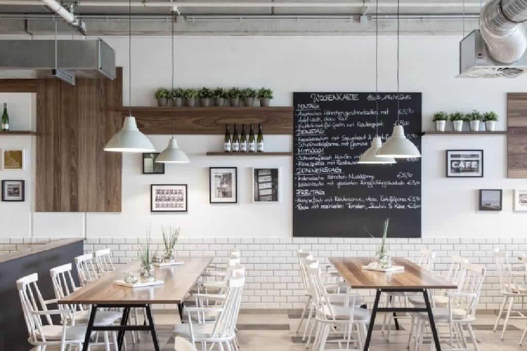 ست رستوران را چگونه ساده اما شیک بچین