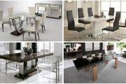 نه صندلی ناهارخوری که با هر میز ناهارخوری قابل استفاده هستند