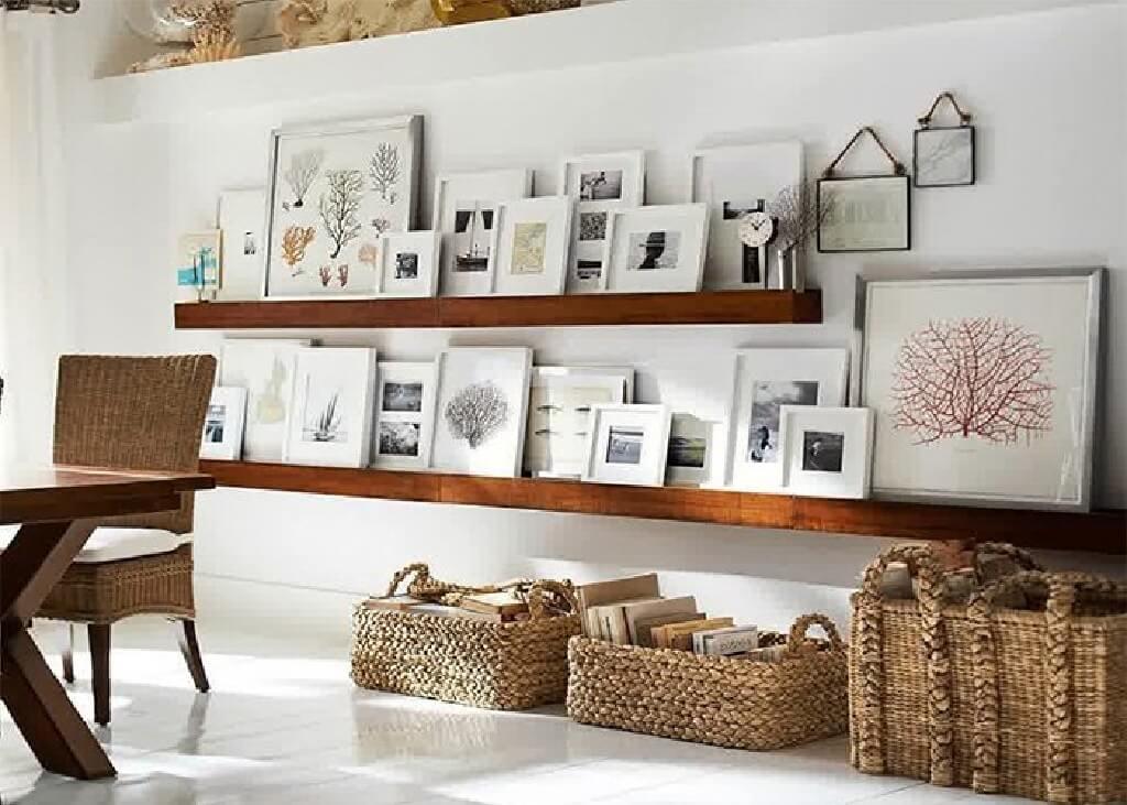 ده راه برای پوشاندن دیوارها و سطوحی که ایراد دارند