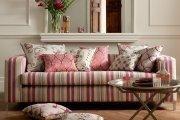 مبل و کاناپه راحتی با پارچه پرنقش و نگار آری یا نه؟