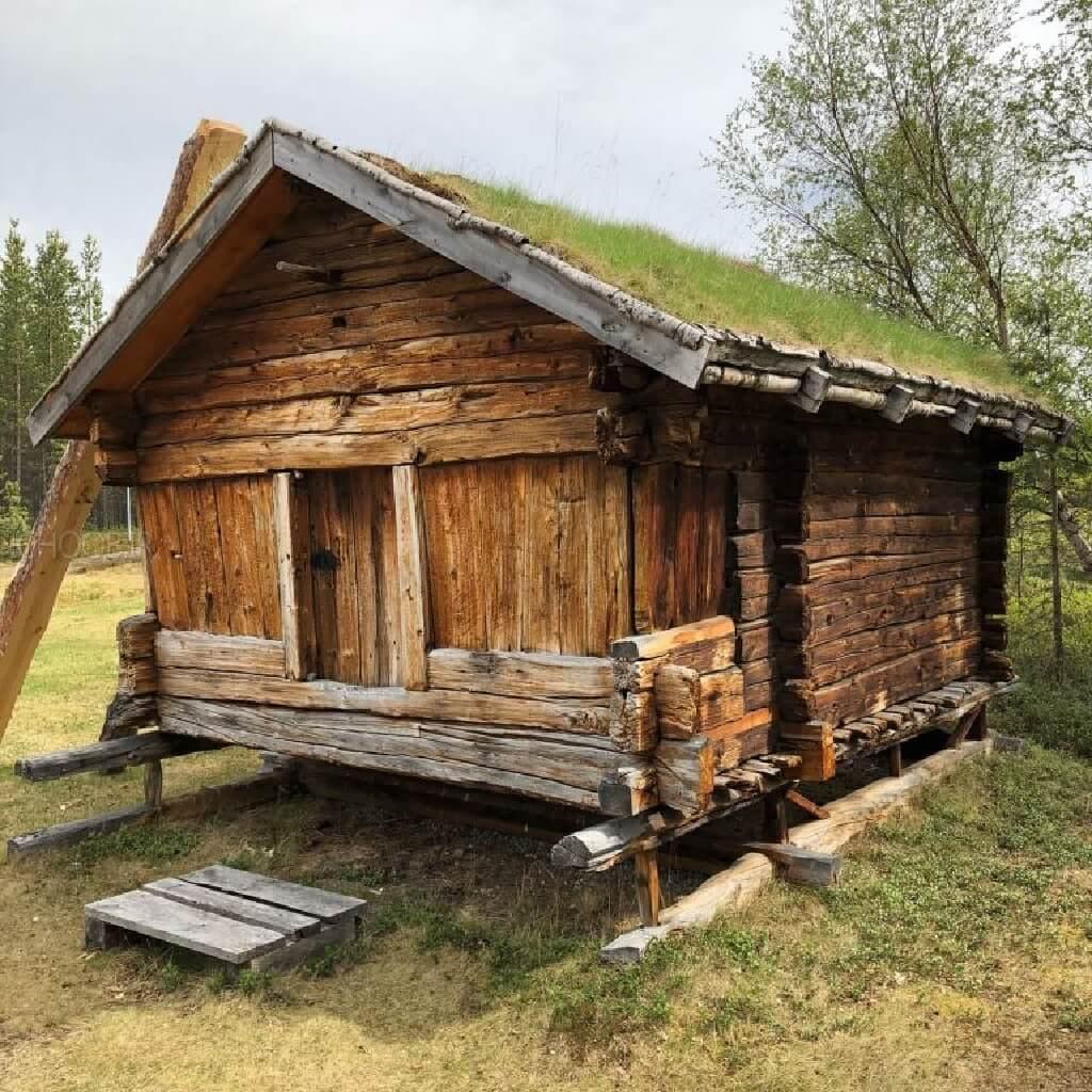 چگونگی ساخت خانه چوبی