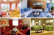 دکوراسیون منزل با رنگهای متفاوت