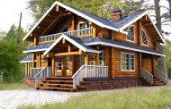نمونه خانه های چوبی
