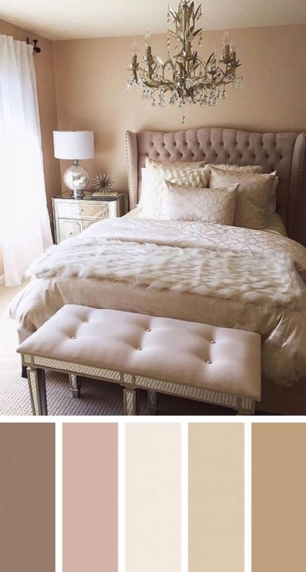 رنگ حرفه ای برای یک اتاق خواب مدرن و متفاوت