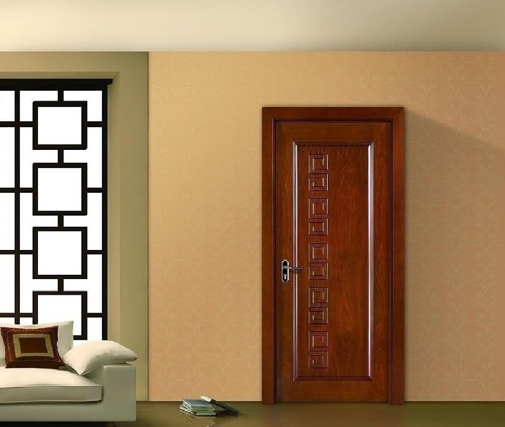 در چوبی اتاق خواب
