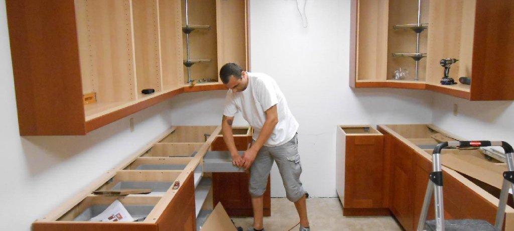 آموزش نصب کابینت آشپزخانه