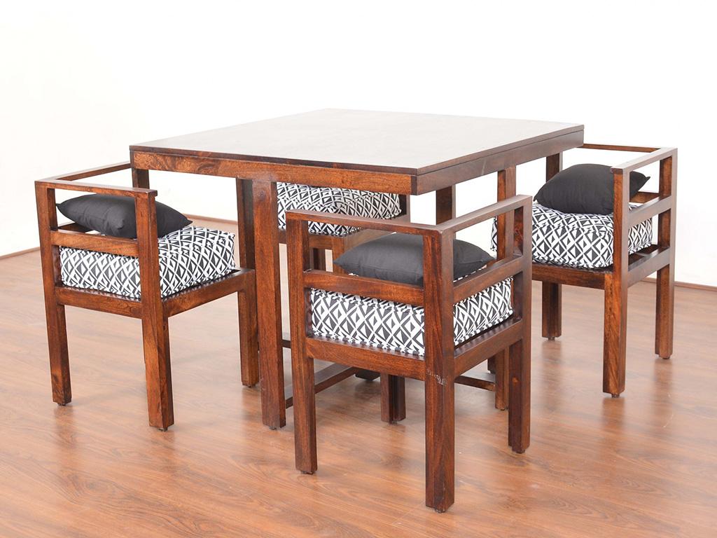 میز صندلی ناهارخوری جمع و جور