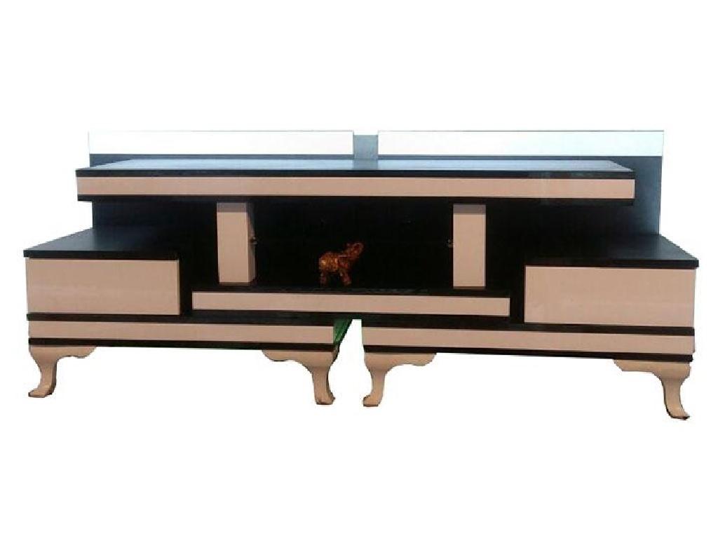 میز تلویزیون چوبی ساده