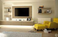 مجموعه ای از برترین مدل های میز تلویزیون جدید دیواری