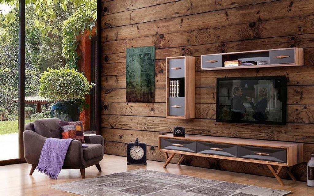 میز تلویزیون پایه مخروطی