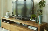 میز تلویزیون تمام چوب