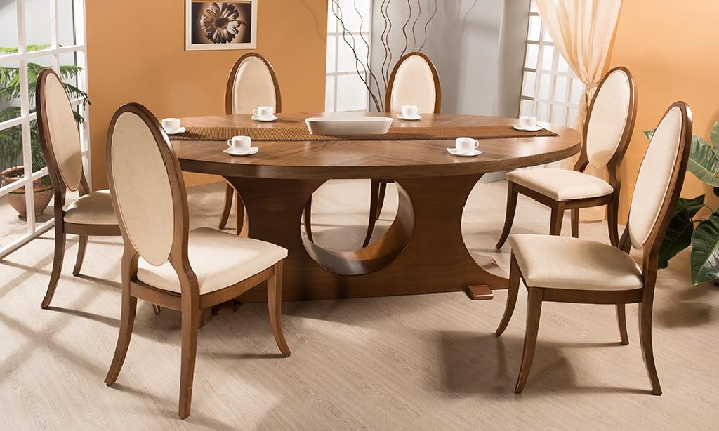 میز ناهار خوری چوبی
