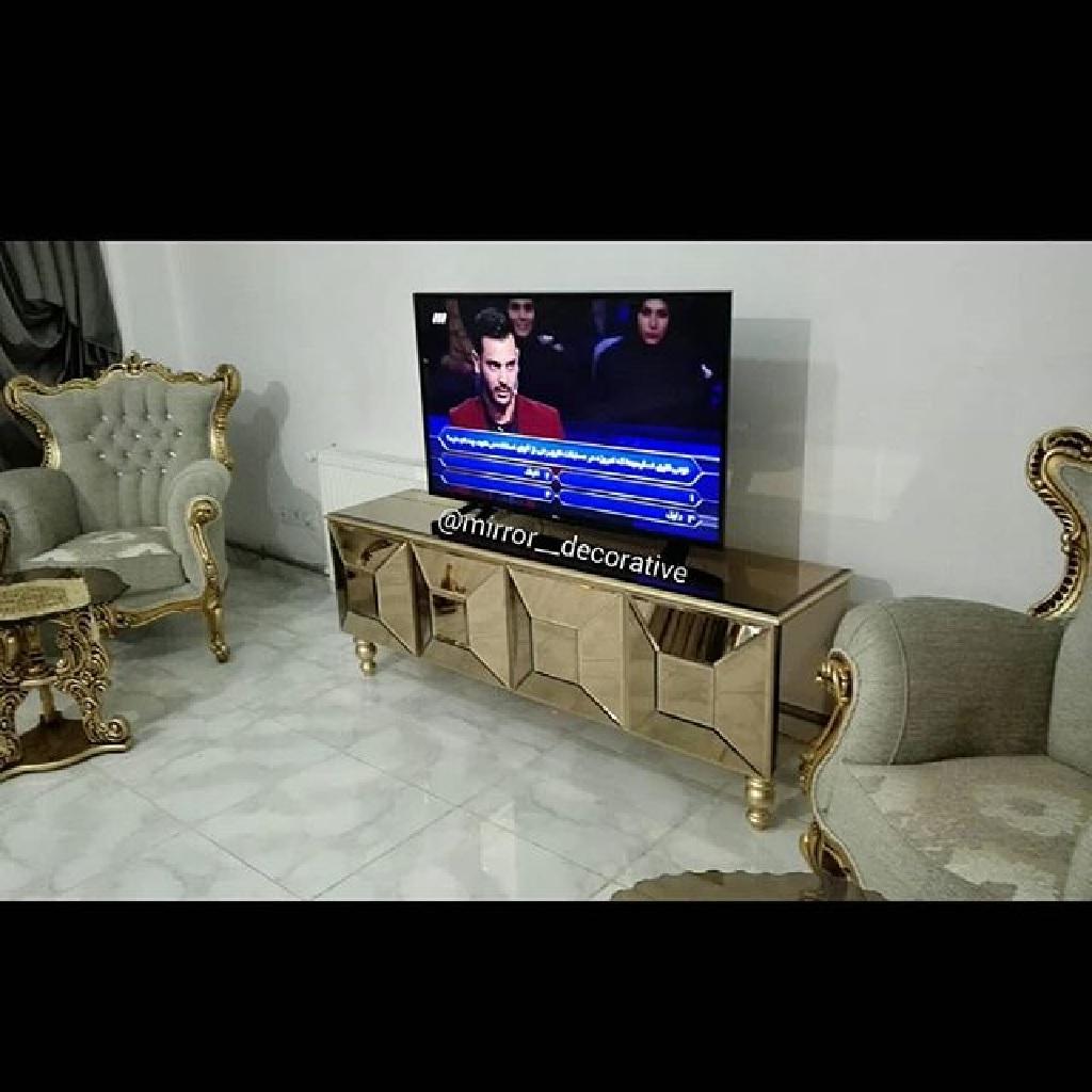 خصوصیات میز تلویزیون چهار تیکه