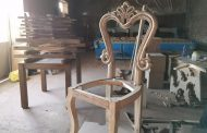 صندلی ناهارخوری خام