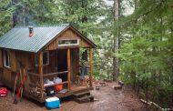 ساخت خانه چوبی جنگلی
