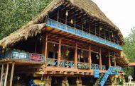 خانه های چوبی روستایی