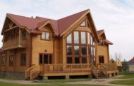 عملکرد لرزهای خانه چوبی ویلایی