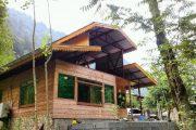 آرامش خیال با خانه چوبی جنگلی