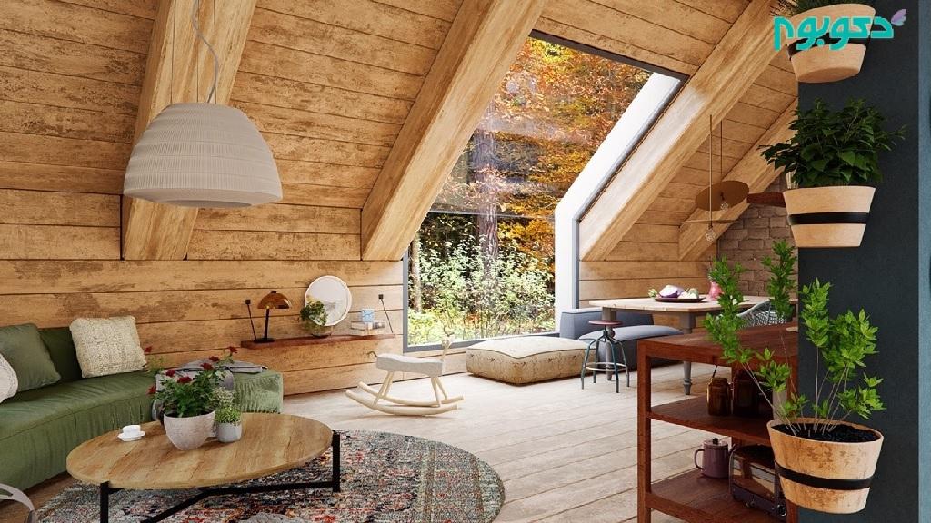 خانه های چوبی رویایی
