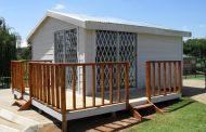 خانه چوبی دست دوم