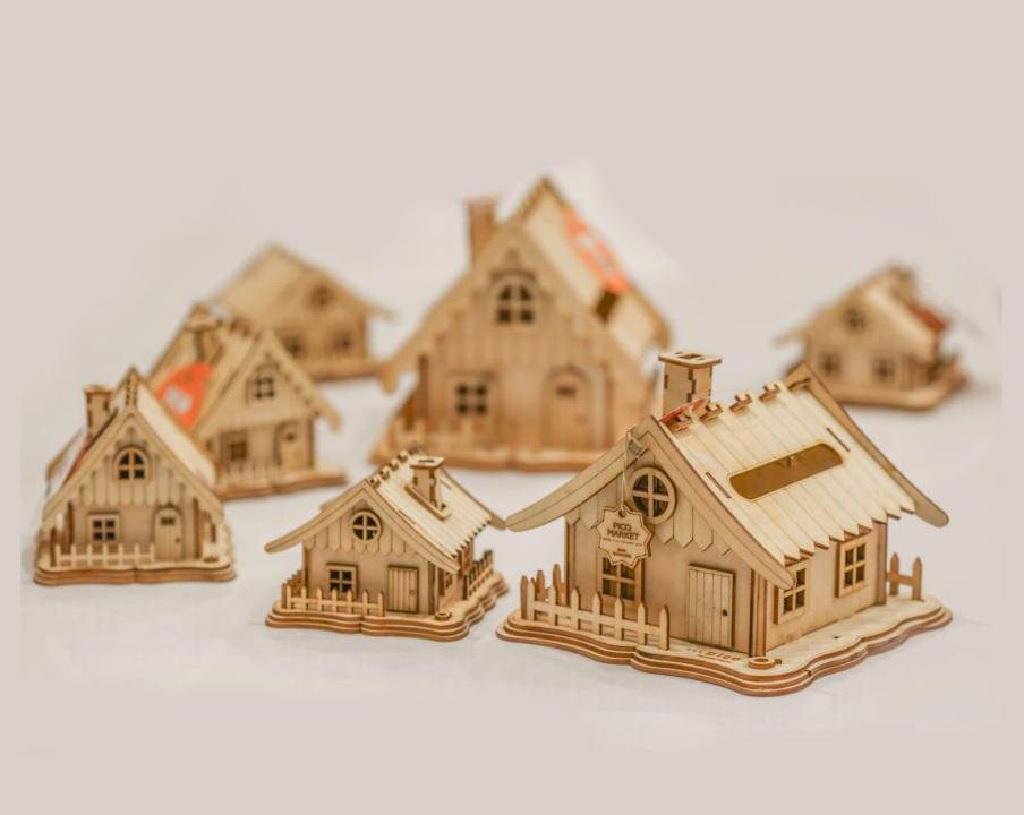راهنمای انتخاب و خرید خانه چوبی مینیاتوری