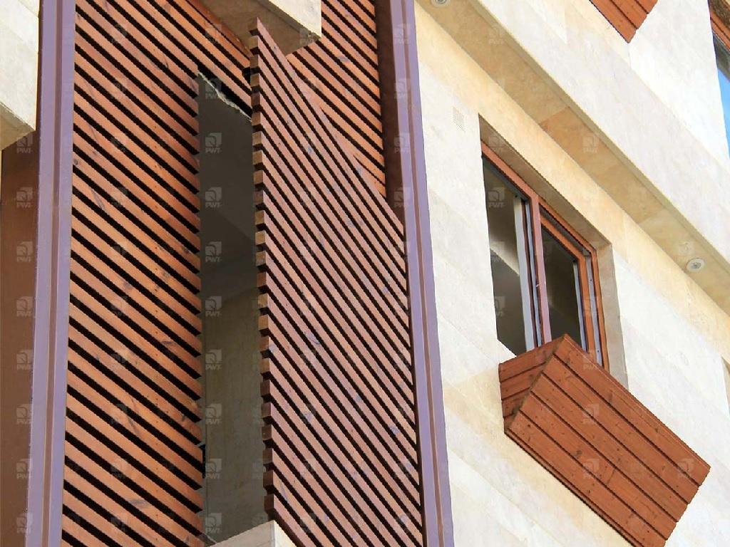 انواع چوبها در طراحی نمای خارجی