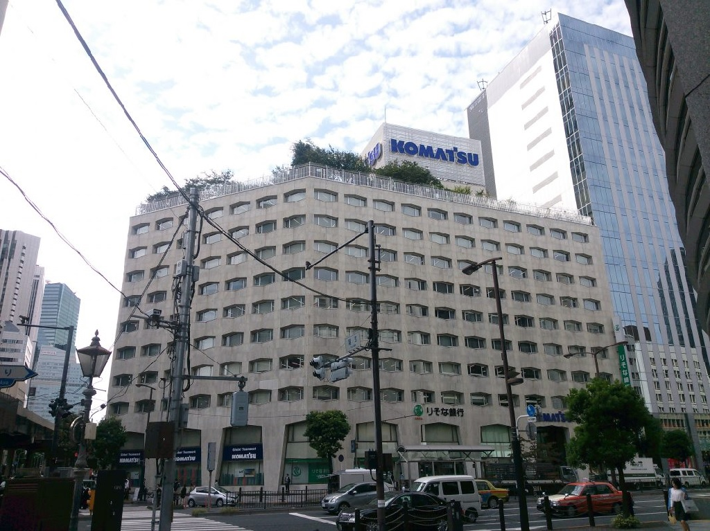 تاریخچه کوماتسو