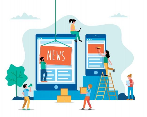 نکاتی برای طراحی سایت خبری
